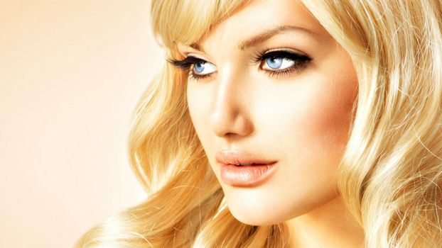 Photo free blonde, sight, Anna Subbotina