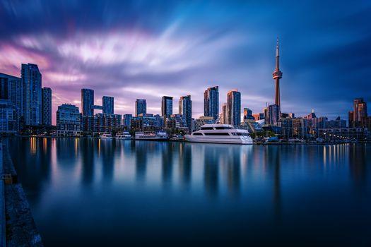 Фото бесплатно небоскребы, Канада Торонто, городской пейзаж