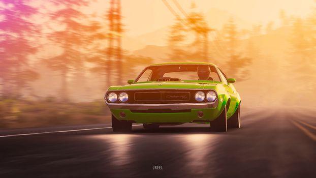 Фото бесплатно Dodge, Dodge Challenger, компьютерные игры