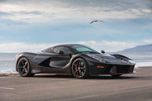 Фото бесплатно Ferrari, Laferrari, черный