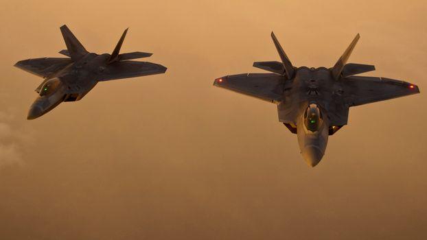 Photo free military, f22 raptor, us air force