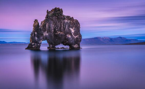 Фото бесплатно природа, океан, горы