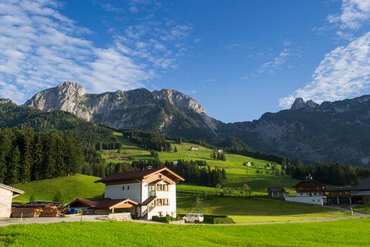 Фото бесплатно лес, горные леса, горная Австрия