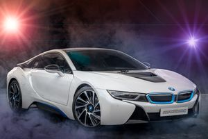 Заставки автомобиль, BMW i8, фон