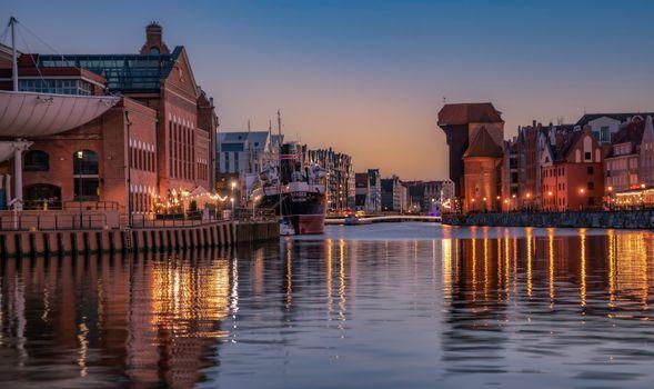 Фото бесплатно города, Польша, канал