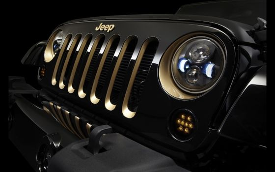 Photo free cars, jeep wrangler dragon edition, view from front