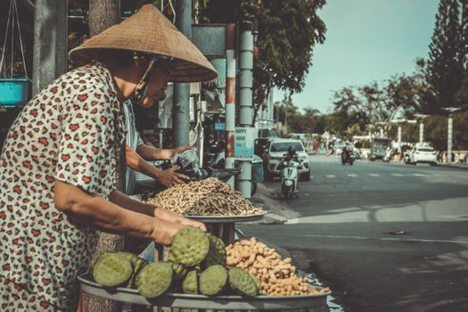 Фото бесплатно продавец, город, женщина
