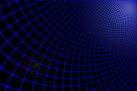 Обои сетка,синий,черный,футуристический,grid,blue,black,futuristic