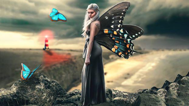 Заставки фея, королева, художник