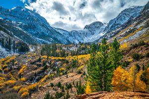 Фото бесплатно горы сша, природа сша, горы