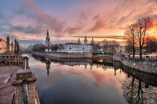 Фото бесплатно Никольский собор, Санкт-Петербург, Россия