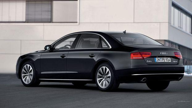 Photo free car, Audi, Audi A8