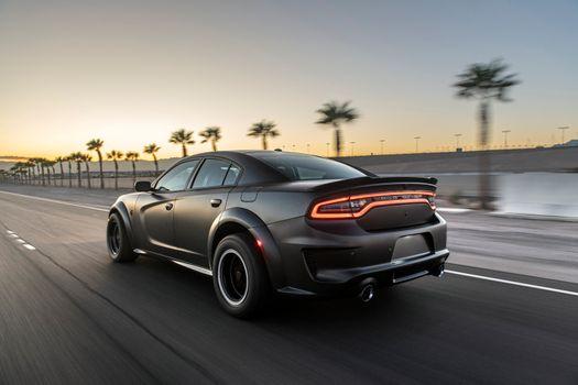 Фото бесплатно Dodge Charger, новый, серый металлик