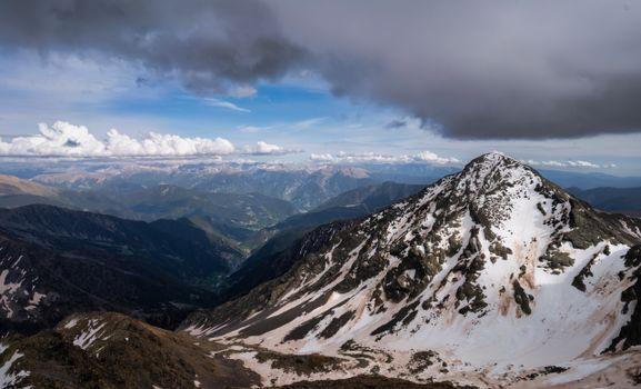 Photo free clouds, mountains, Andorra