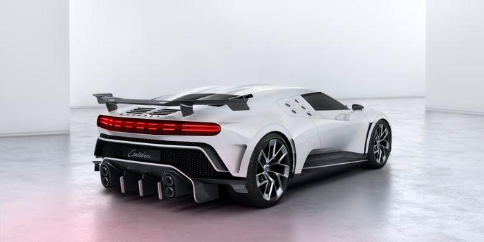 Photo free cars, Bugatti Centodieci, spoiler