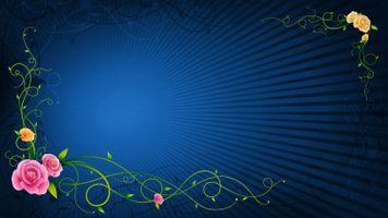 Поздравительная рамка с цветами · бесплатное фото