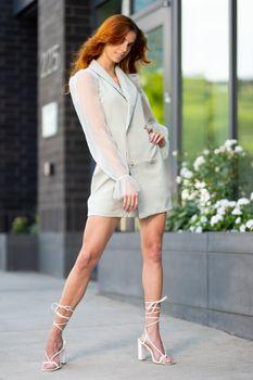 Photo free pose, girls legs, dress