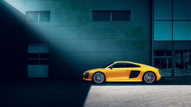 Photo free Audi R8, Audi, Behance