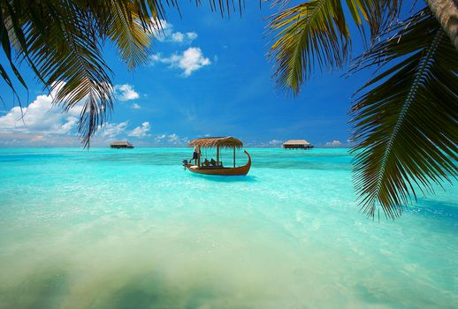 Бесплатные фото Мальдивы,море,лодка,отдых