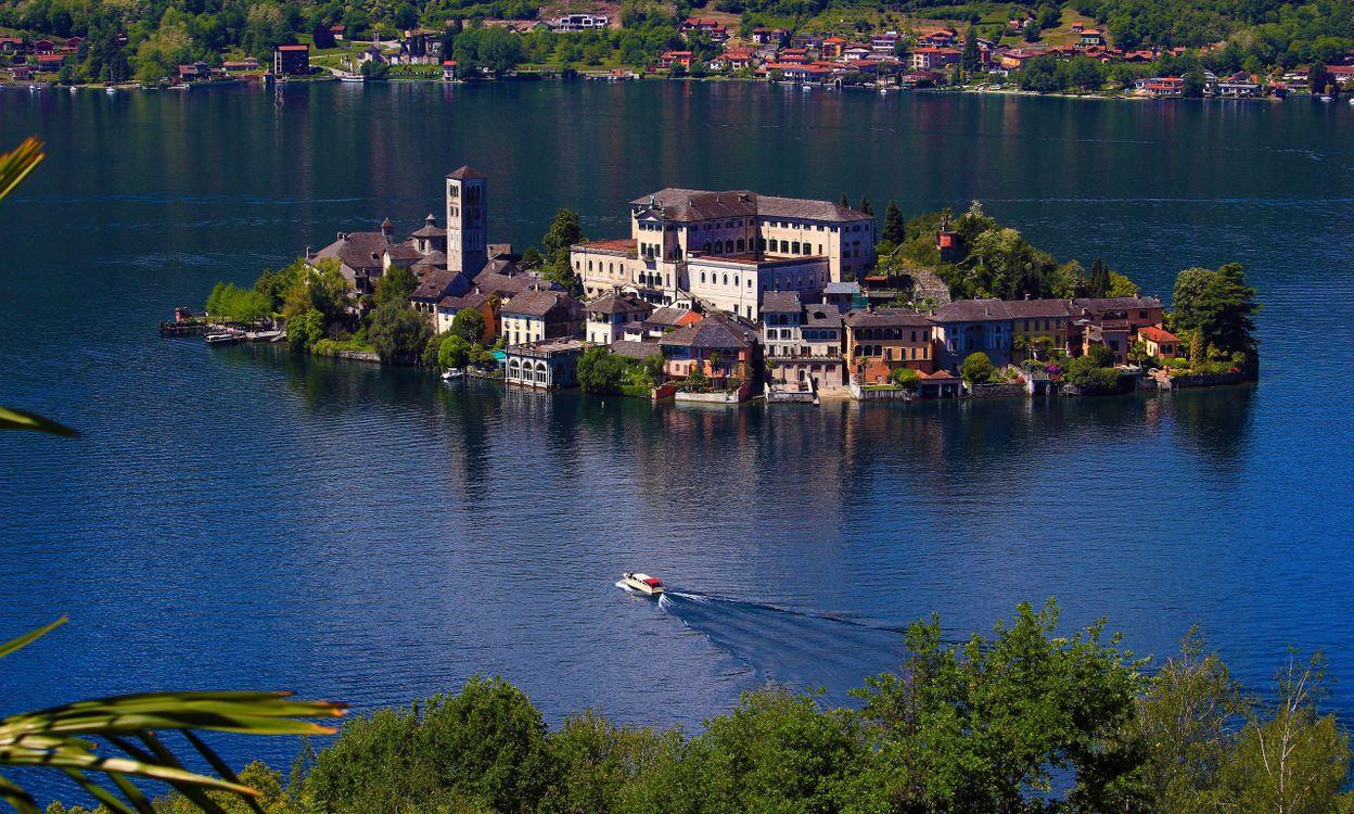 Фото природа Италия озеро - бесплатные картинки на Fonwall