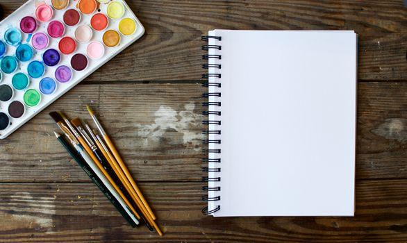 Photo free notebook, writing, creative