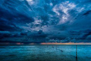 Бесплатные фото закат,море,облака,небо,пейзаж