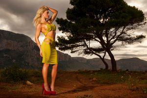 Заставки brigitta, блондинка, модель