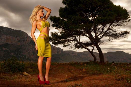 Фото бесплатно brigitta, блондинка, модель