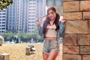 Фото бесплатно молодая женщина, куртка, азиатка