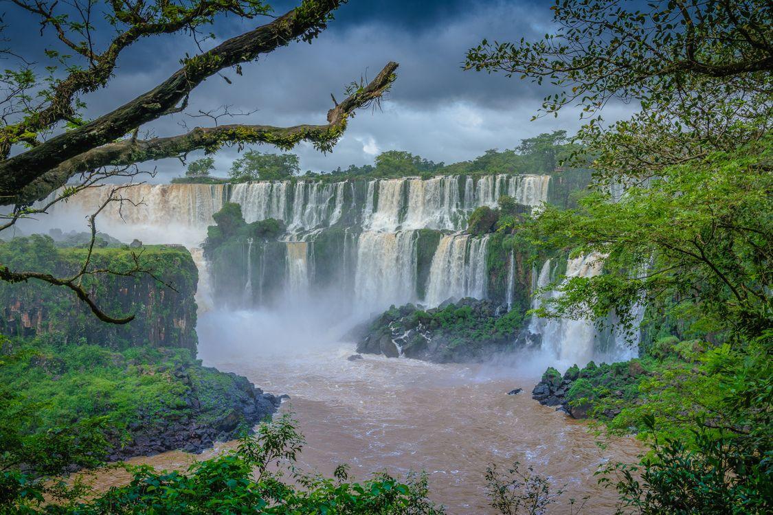 Фото бесплатно Бразилия, бразильские водопады, водопад - на рабочий стол