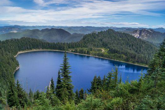 Заставки Mount Rainier, Summit Lake, горы