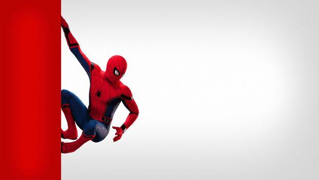 Заставки Человек-паук, супергерои, произведение искусства