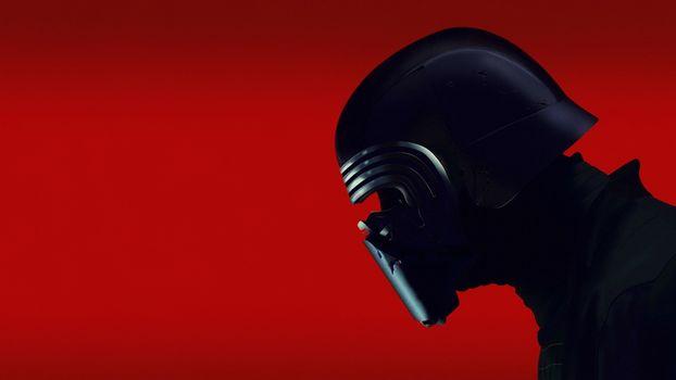 Photo free figure, background, helmet