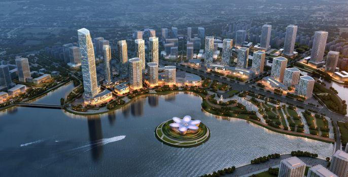 Дизайн нового города