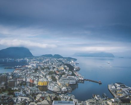 Фото бесплатно Алесунд, Норвегия, город