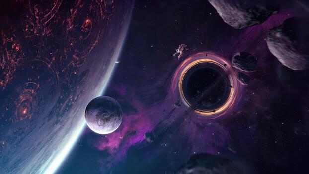Фото бесплатно астронавт, космос, Digital Universe