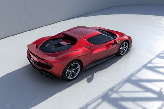 Photo free cars, Ferrari, red