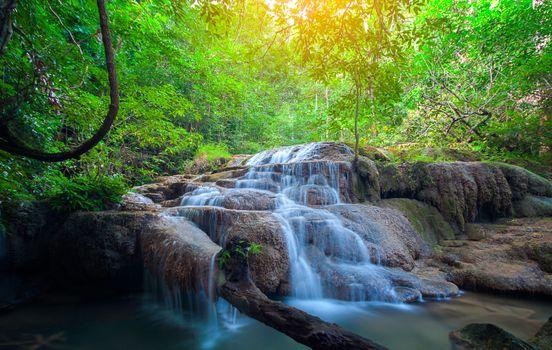 Photo free Kanchanaburi, Erawan National Park, Thailand