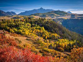 Фото бесплатно природа, осенние пейзажи, горы