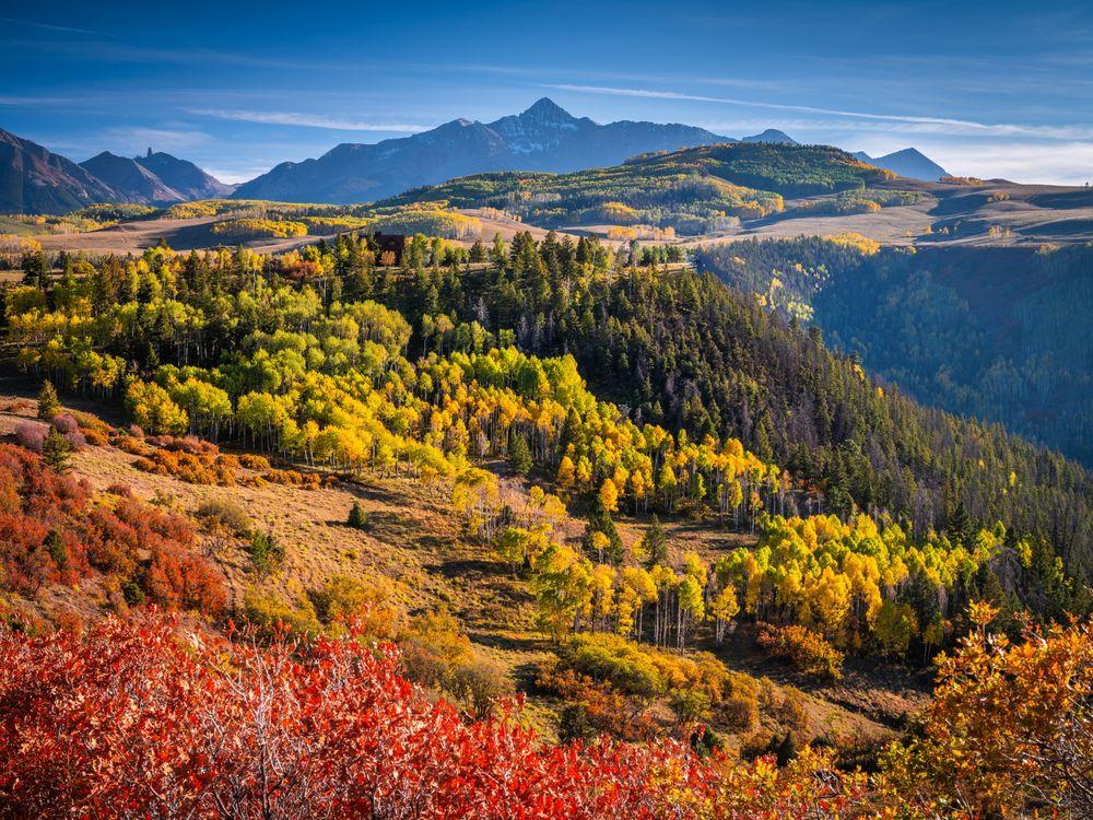 Фото природа осенние пейзажи горы - бесплатные картинки на Fonwall