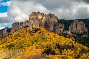 Бесплатные фото Colorado,осень,горы,деревья,пейзаж