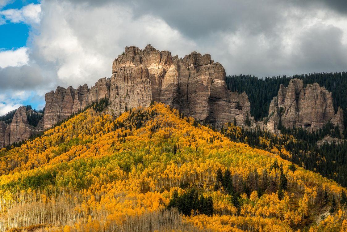 Фото бесплатно Colorado, осень, горы - на рабочий стол