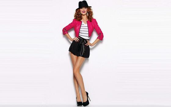 Photo free girl, dress, textile
