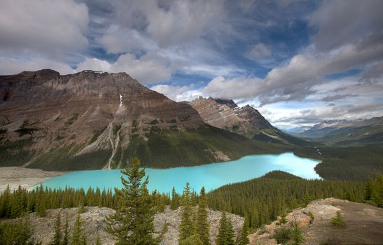 Photo free landscape, Banff National Park, panorama