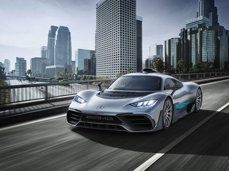 Фото бесплатно Mercedes-AMG Project ONE, автомобиль, машина