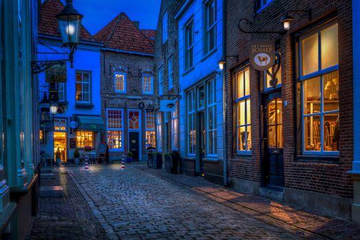 Photo free Netherlands, buildings, pavers
