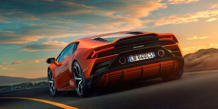 Photo free Lamborghini Huracan Evo, Lamborghini, cars