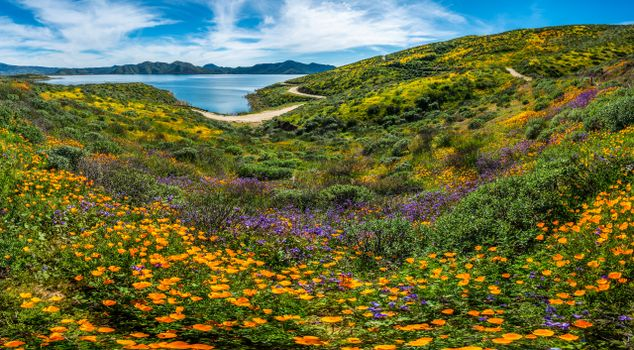Фото бесплатно горы сша, пейзаж сша, горный пейзаж