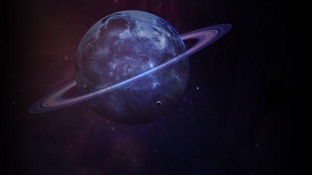 Фото бесплатно кольца Сатурна, галактика, звезды