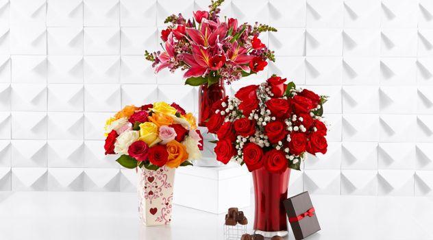 Заставки букеты, цветы, шоколад